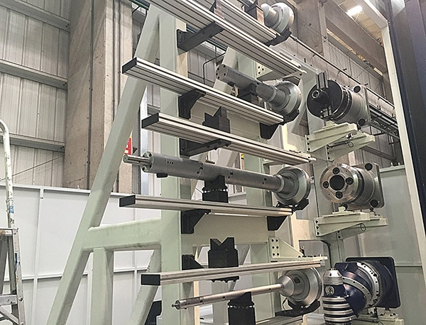 Rotary Coupling Tool Stacker
