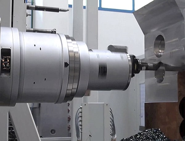 Rotary Coupling with Facing Head