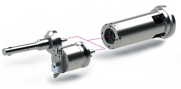 ZX Rotary Coupling Extended Layout