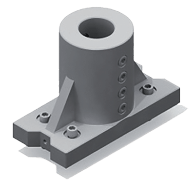 ZX Facing centre cylindrical shank