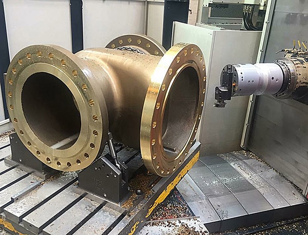 facing valve body