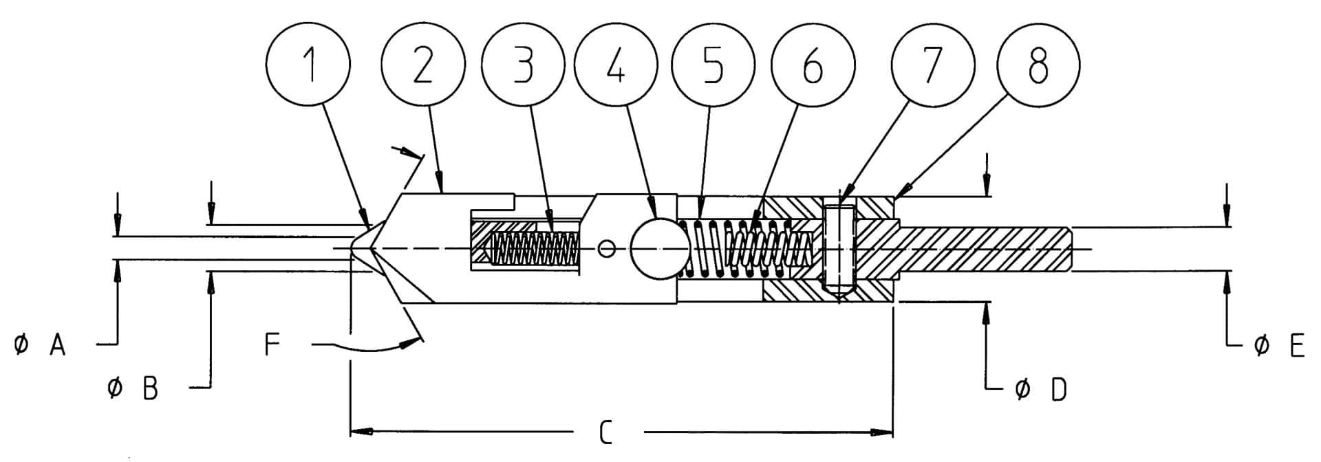 ellipti bur specifications diagram