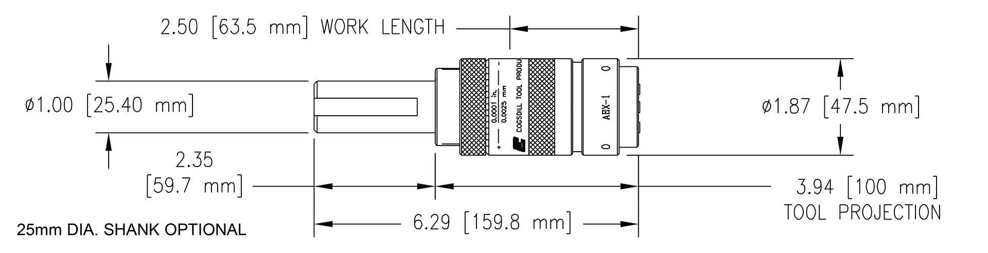 AEX-1 specifications