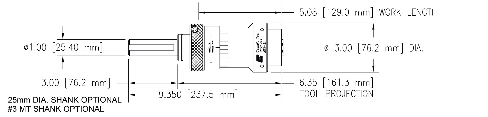 AEX-2 specifications