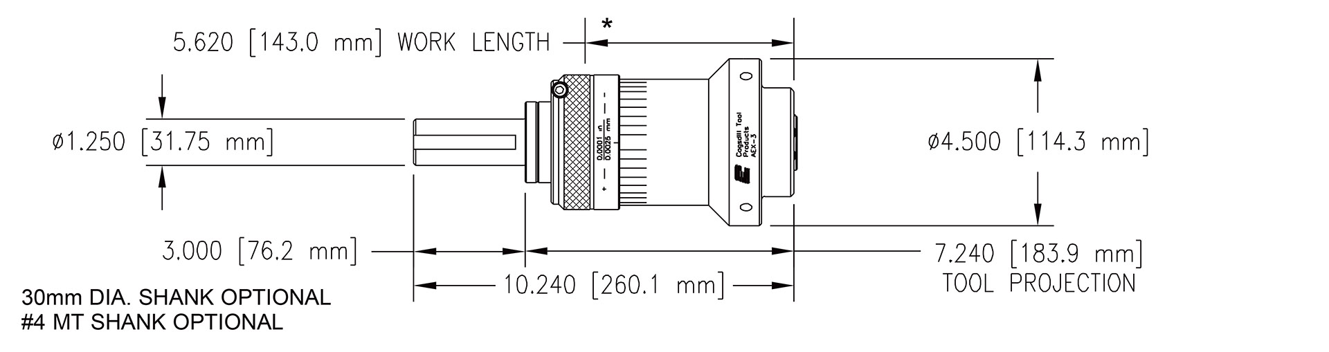 AEX-3 specifications