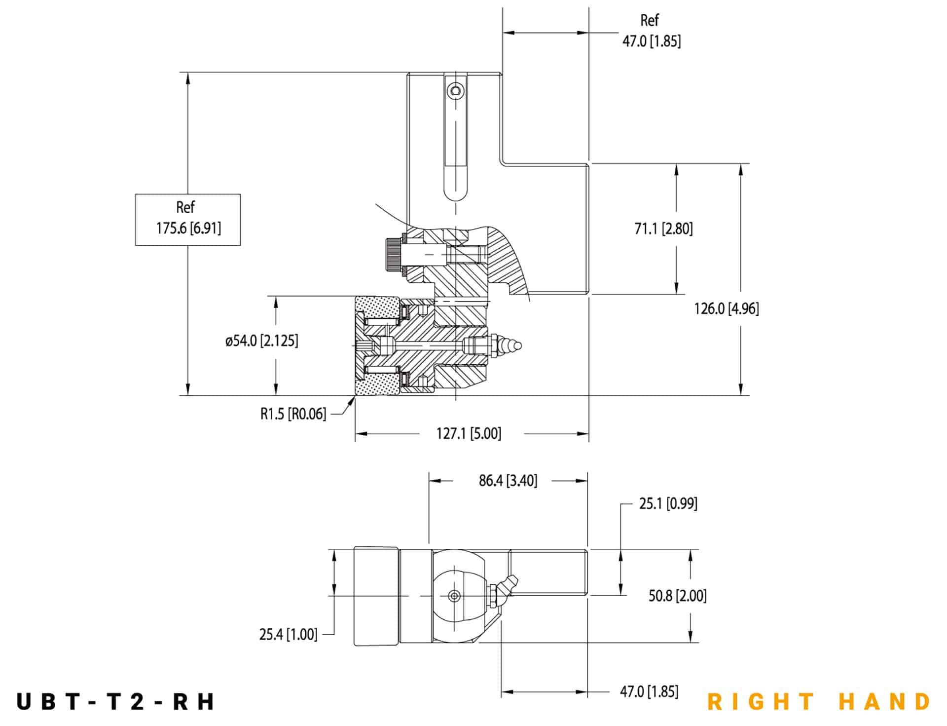 UBT-T2 RH specifications