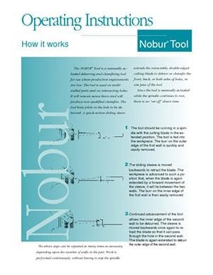 Nobur Operating Instructions CTP