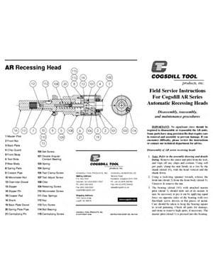 AR-Series Field Service Instructions