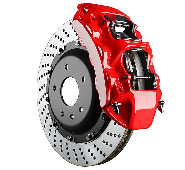 brake rotor calliper