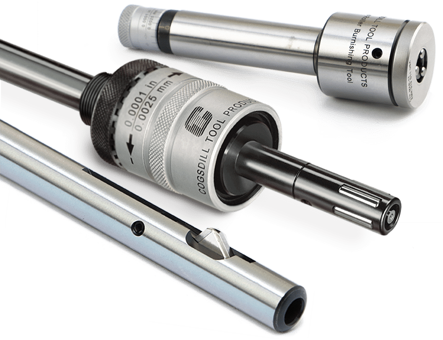Roller Burnishing Tool and Deburring Tools by Cogsdill Precision Tooling