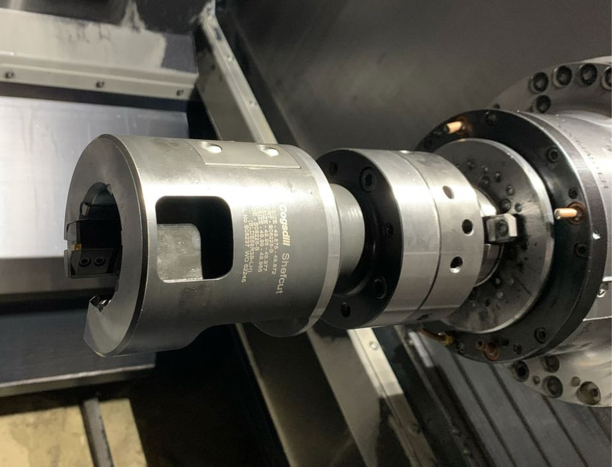Shefcut Reaming by Cogsdill Precision Boring Pump Housing